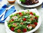 Ballı ve keçi peynirli semizotu salatası tarifi