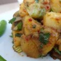 Nar Ekşili Çıtır Patates Salatası