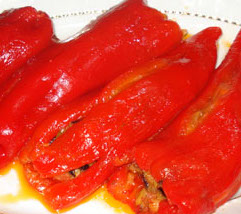 Kırmızı biber mezesi tarifi