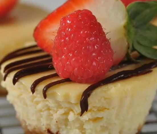 Meyveli Mini Cheesecake Tarifi | Yemek Kültürü