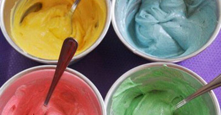 Как сделать крем с красителями